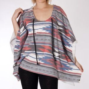 One Teaspoon Native Poncho Sweater